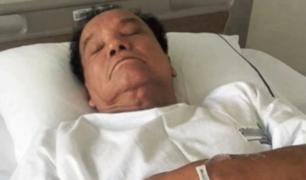 'Melcochita' fue llevado a clínica tras sufrir descompensación