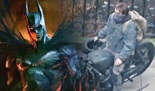 Batman: aparecen primeras imágenes de Robert Pattinson en el rodaje