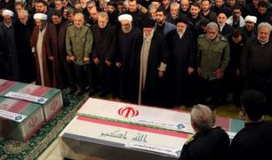 Irán: entierran restos de Qasem Soleimani en su ciudad natal
