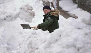 Canadá: tormenta de nieve y fuertes vientos azotaron la provincia de Newfoundland