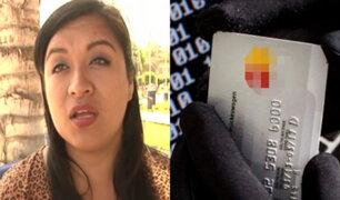 Mujer denuncia que le robaron el celular y le vaciaron cuentas bancarias