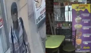 Sujeto viola y roba a joven vendedora de mazamorra en Ate