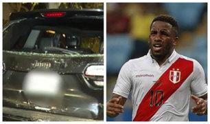 """Jefferson Farfán tras accidente vehicular en Surco: """"Por poco y nos matan"""""""