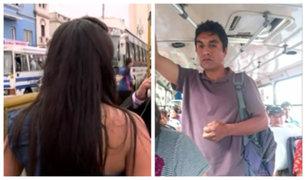 Sujeto que grabó partes íntimas a abogada en bus fue defendido por una mujer