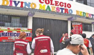 """Ministerio de Educación inicia cierre de """"falsos colegios"""" en Lima"""
