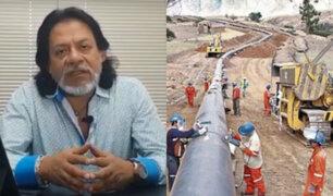 """César Gutiérrez sobre SIT Gas: """"Plazos y condiciones no llegarán a buen puerto"""""""