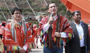 """Presidente Vizcarra pide  tener """"mano fuerte""""  ante casos de feminicidios"""