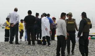 Callao: recuperan cuerpo de joven que se ahogó en playa Cantolao