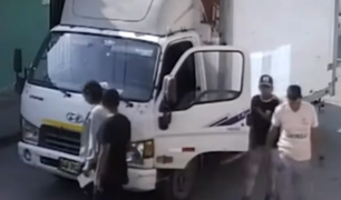 Trujillo: roban camión de abarrotes y secuestran a tripulantes