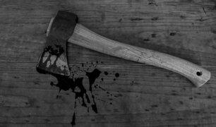 VIDEO: pelea con palos y hachas deja varios heridos en un bar