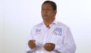 César Sifuentes propone proyecto de ley para eliminar inmunidad parlamentaria