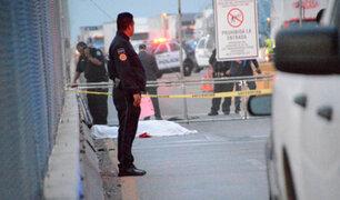 Migrante mexicano se suicida luego que EEUU rechazará su solicitud de asilo