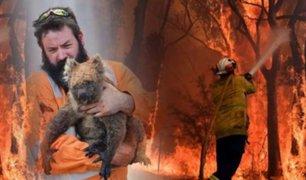 Australia: mil millones de animales mueren por incendios forestales
