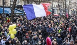 Francia: se registran disturbios en protestas contra la reforma de pensiones