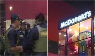 Lince: reportan balacera en el centro comercial Risso