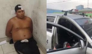 SMP: capturan a raquetero que robaba a bordo de un falso taxi