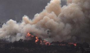 Australia: vientos huracanados generan megaincendio y autoridades exhortan a evacuar