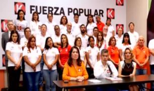 Domingo Pérez pide suspender a Fuerza Popular por dos años y medio