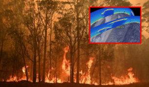 Afectará al clima mundial: humo de incendios de Australia llegó a la estratósfera
