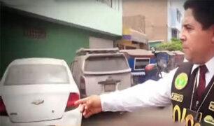 Hallan varios vehículos robados en una cochera de SJL