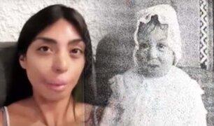Peruana que radica en Suiza busca conocer a su familia biológica