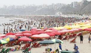 Elecciones 2020: bañistas acuden a playas durante comicios congresales