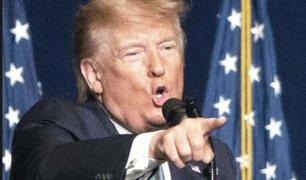 Donald Trump impone más sanciones contra Irán
