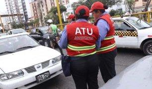 ATU y municipio de Magdalena realizan operativo contra transportistas informales
