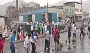 La Victoria: realizaron operativo para recuperar espacios públicos adyacentes al Mercado de Frutas
