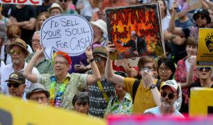 """Australia: piden renuncia del primer ministro por su """"inacción"""" ante incendios"""