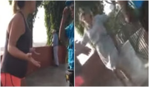 Magdalena: mujeres en estado de ebriedad insultan con frases racistas a serenazgo