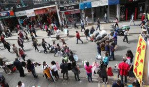 Gamarra: ''jaladores'' continúan en emporio comercial pese a ordenanza municipal