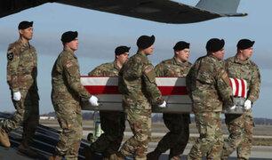 Ataque talibán mata a dos soldados estadounidenses en Afganistán
