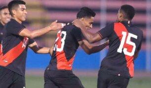 Selección Sub 23 |Perú vs. El Salvador: Kevin Sandoval anotó el 1-0 y le dio el triunfo a Bicolor