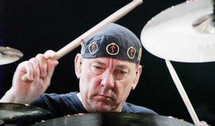 Baterista de la banda de rock Rush muere a los 67 años