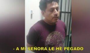 Detienen a agresor que golpeó salvajemente a esposa en presencia de menores hijas