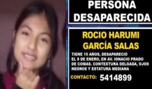 Reportan desaparición de adolescente de 15 años desde hace tres días