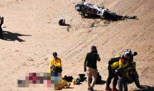 Muere piloto portugués en un accidente en el Dakar