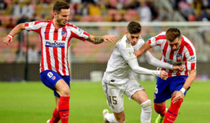 Club Real Madrid se coronó campeón de la Supercopa de España