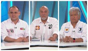 Bazán, Merino y Acuña: apuestan por Salud, ejecución de presupuestos y seguridad