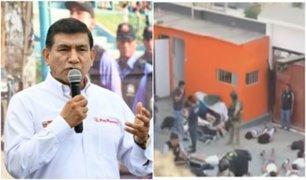 Ministro Morán: implicado en crimen de McDonald's estaba refugiado en Punta Negra
