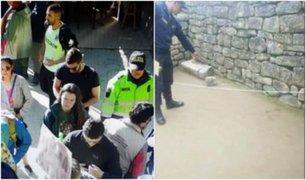 Cusco: detienen a seis turistas por ingresar ilegalmente a Machu Picchu y causar daños