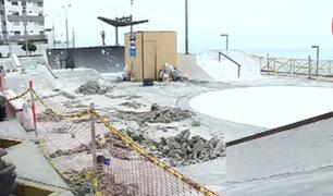 San Miguel: reprograman fecha para terminar la remodelación de skate park