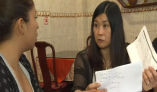 Empresaria china denuncia robo de más de US$30 mil dólares