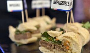 Estados Unidos: presentan primera carne artificial de cerdo
