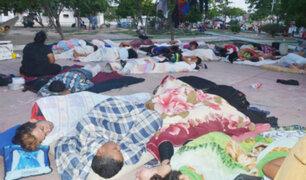 Colombia: parques de Bucaramanga utilizados como dormitorios por inmigrantes venezolanos