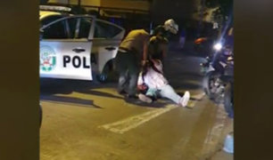 Surco: efectivo policial balea a presunto delincuente tras intensa persecución