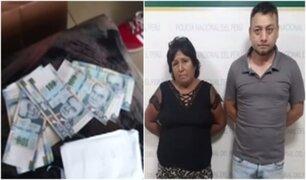 Independencia: desarticulan banda criminal que se dedicaba a falsificar billetes