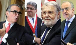 """Olaechea: """"felicito a Blume, Sardón y Ferrero por ser firmes en defender Estado de derecho"""""""