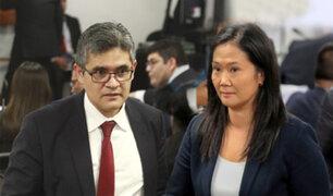 Keiko Fujimori: reprograman audiencia de prisión preventiva para el próximo 23 de enero